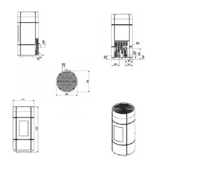 po le mcz a granul s pellets curve kw. Black Bedroom Furniture Sets. Home Design Ideas
