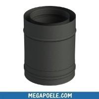 Élément droit 250 mm - conduit concentrique