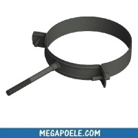 Collier mural simple - conduit concentrique