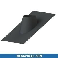 Solin plomb 30-45° sans collerette d'étanchéité - conduit concentrique