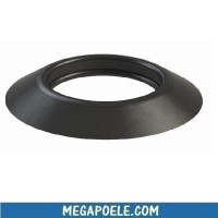 Rosace de finition EPDM - Conduit simple paroi