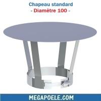 Chapeau standard - Diamètre 100