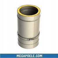 Élément droit réglable 400-560 mm